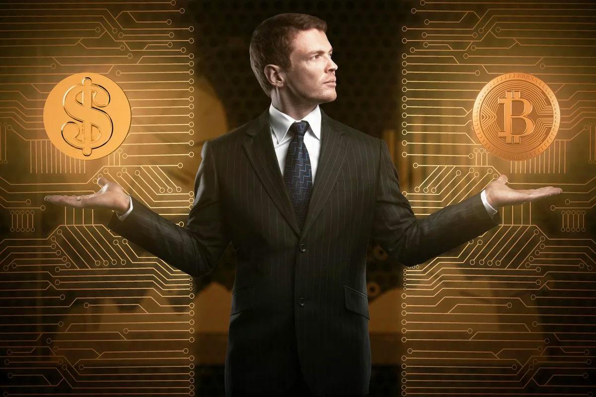 человек и криптовалюта